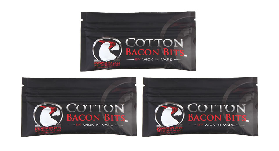 Product Image: authentic-wick-n-vape-cotton-bacon-bits-v2-cotton