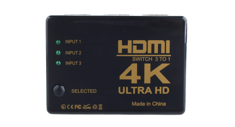 Product Image: 3-input-1-output-4k-hd-hdmi-switch-hub-switcher