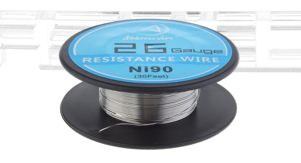$2.34 Ambrose Vape Ni90 Heating Wire - 26 AWG / 0.4mm dia. / 30ft at ...