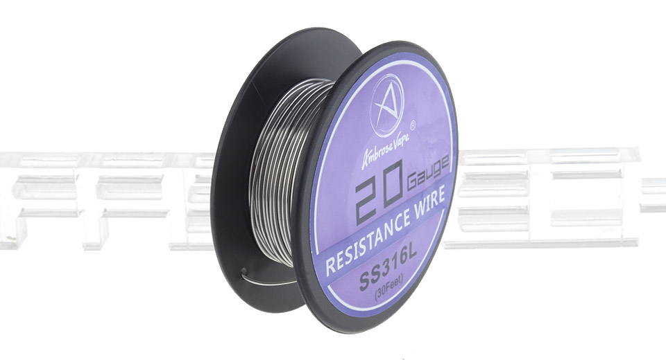 Product Image: ambrose-vape-316l-stainless-steel-heating-wire