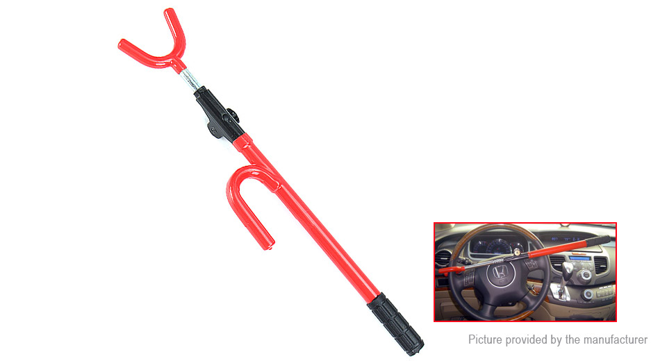Anti-theft Security Car Steering Wheel Steel Lock