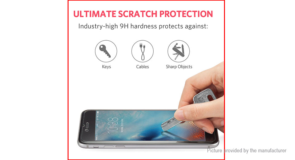 Hat.Prince 2.5D Tempered Glass Screen Protector for Xiaomi Redmi Note 5A