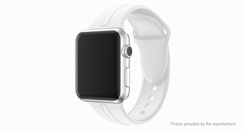 Replacement Silicone Watchband Strap for Apple Watch 42mm