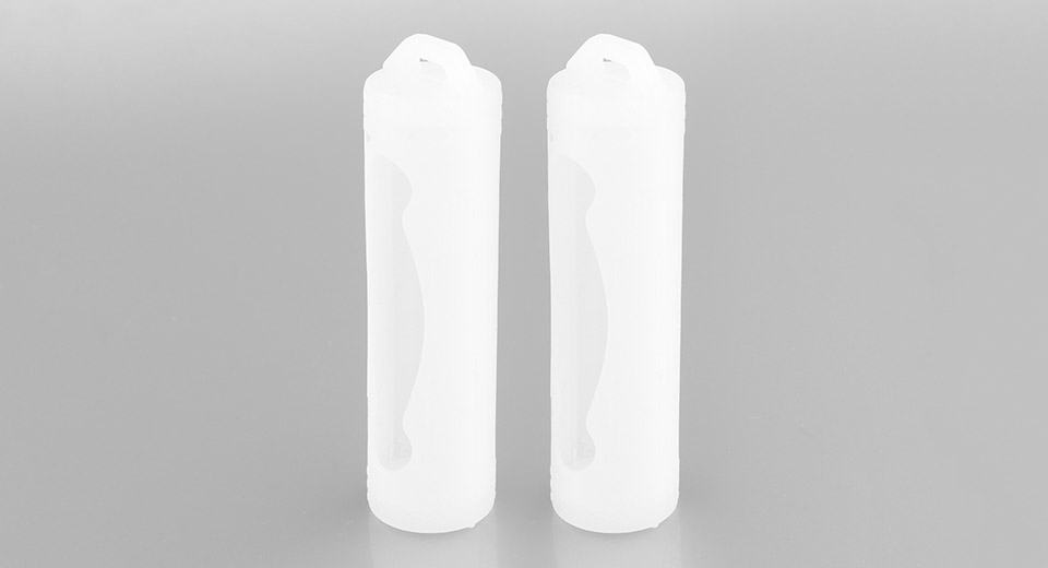 20700 Battery Protective Silicone Sleeve Case (2-Pack)