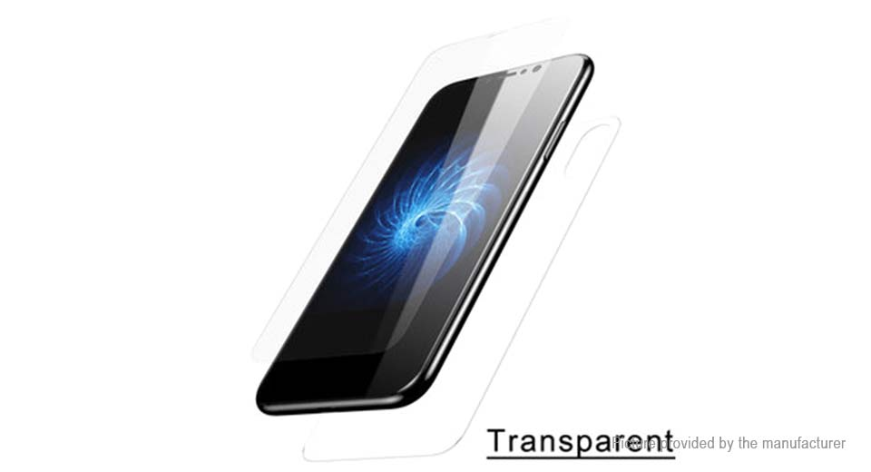 6.87 Authentic Baseus Tempered Glass Front   Back Screen Protector ... 55a87445e66a