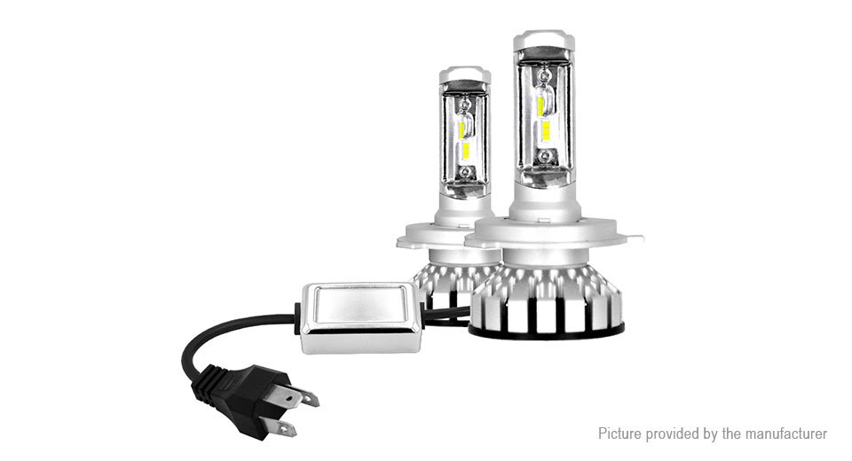 Product Image: h4-hb2-9003-80w-2-led-8000lm-pure-white-led-car
