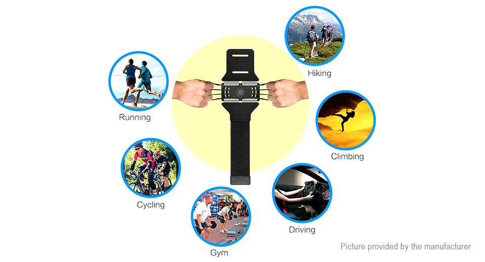 VUP Sports Running Cycling Adjustable Armband Cell Phone Holder