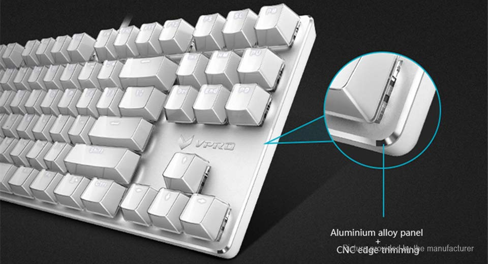 Authentic Rapoo V500S Wired Mechanical Gaming Keyboard