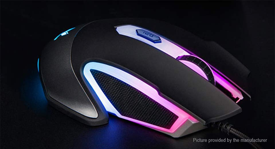 94f1cf36e99 $28.80 Authentic Rapoo V302 USB Wired Gaming Mouse - 8-button ...