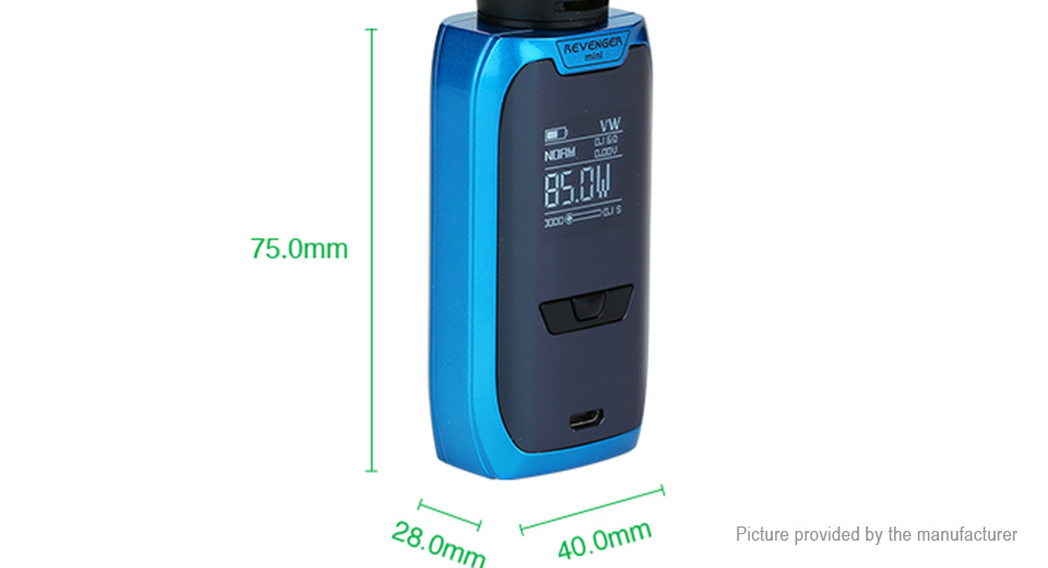 Authentic Vaporesso Revenger Mini 85W TC VW APV Box Mod