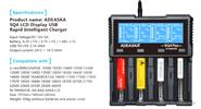 Adeaska SP4 4-Slot Intelligent Battery Charger (EU)