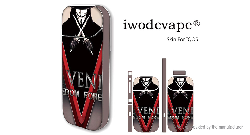 Iwodevape Self-adhesive Skin Sticker for iQOS E-Cigarette