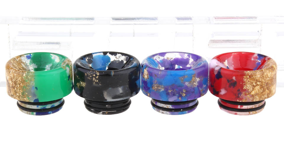 Amusing Vape Resin 810 Drip Tip (4 Pieces)