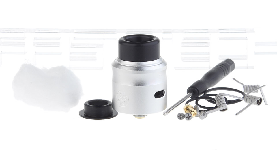 Authentic Wotofo Nudge RDA Rebuildable Dripping Atomizer (SS)
