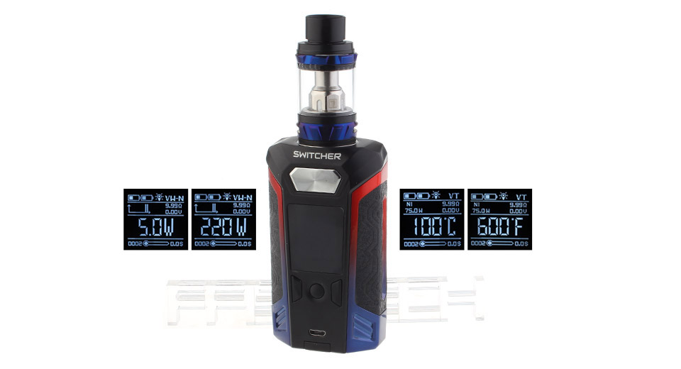 Product Image: authentic-vaporesso-switcher-220w-kit-w-nrg-tank