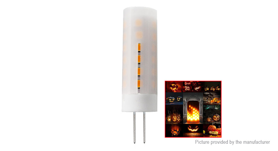 Product Image: g4-2w-36-2835-smd-200lm-warm-white-led-flame-light