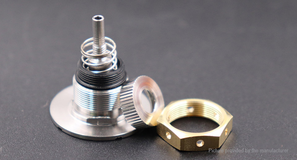 Replacement Bottom Feeder 510 Connector for Mechanical Box Mod