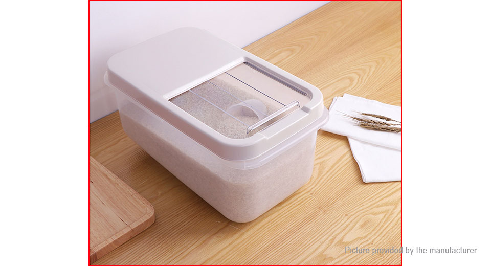 ... PP Sealed Moistureproof Storage Box Kitchen Grain Rice Container ...  sc 1 st  FastTech & $15.16 PP Sealed Moistureproof Storage Box Kitchen Grain Rice ...