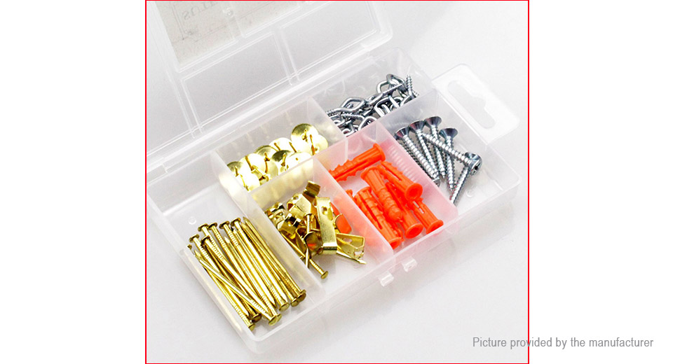 359 Picture Frame Hook Medium Picture Hanger Assortment Kit 73