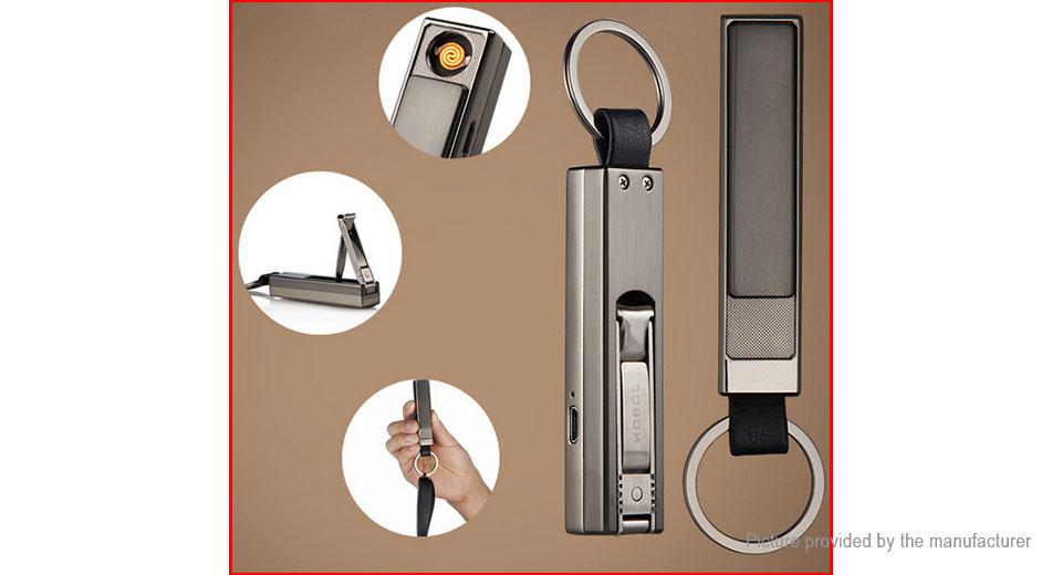 JOBON ZB-381 USB Rechargeable Electronic Cigarette Lighter