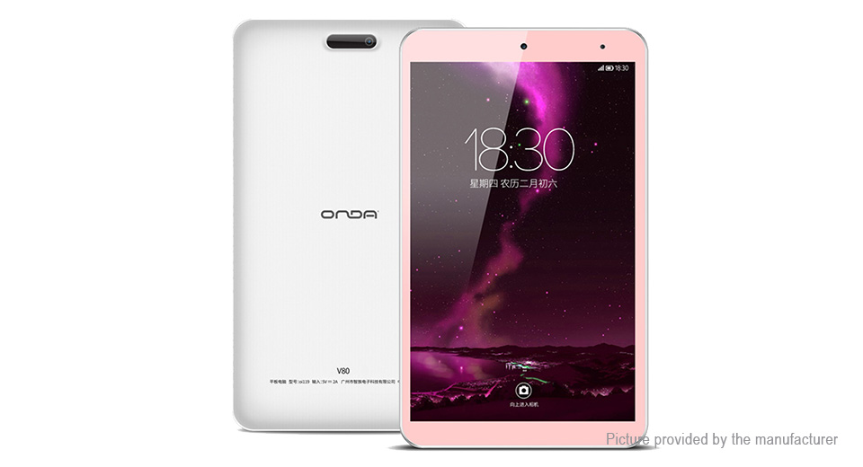 Authentic Onda V80 8 IPS Quad Core Nougat Tablet PC