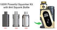 Authentic IJOY CAPO SRDA Squonker 100W VW APV Box Mod Kit