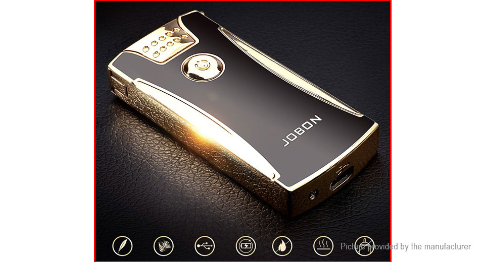 JOBON ZB-868A Double Pulse Arc Electronic Cigarette Lighter