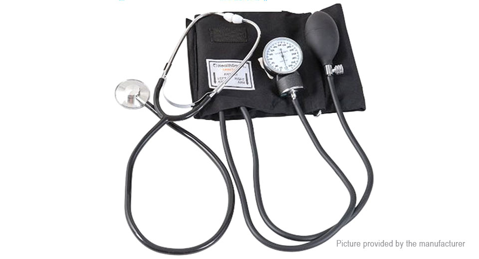 Manual Control Wrist Blood Pressure Monitor
