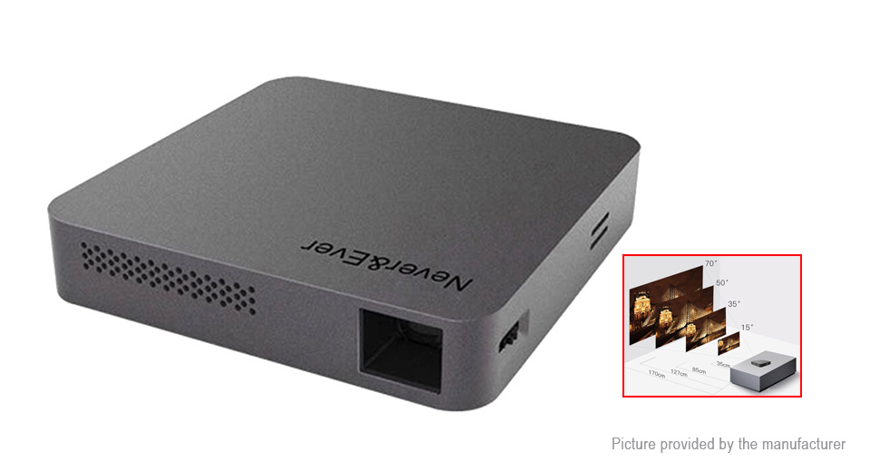 Product Image: never-ever-s5-portable-wifi-dlp-led-projector