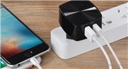 Authentic hoco Mighty Power Series C26A Dual USB Wall Charger Power Adapter (EU)