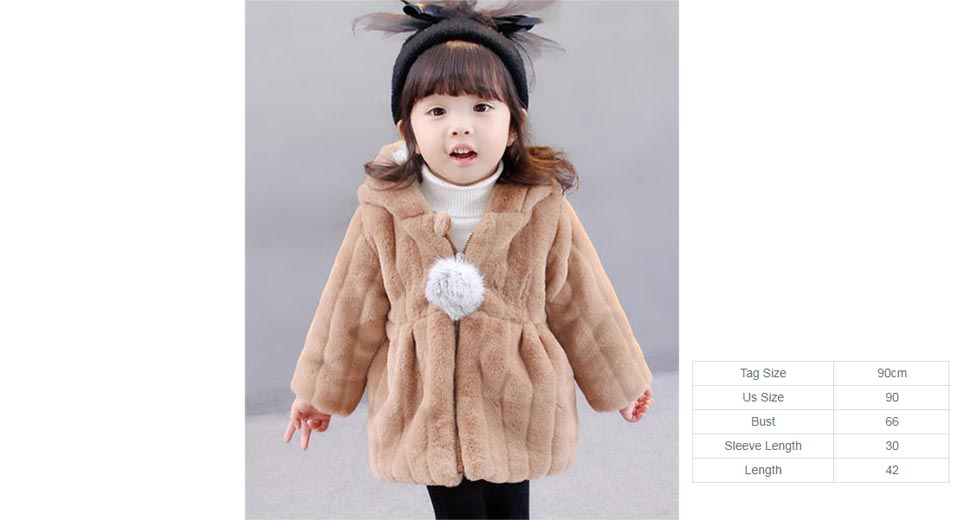 02e22d9c4  17.69 Baby Girl s Faux Fur Hooded Coat (90cm) at FastTech ...