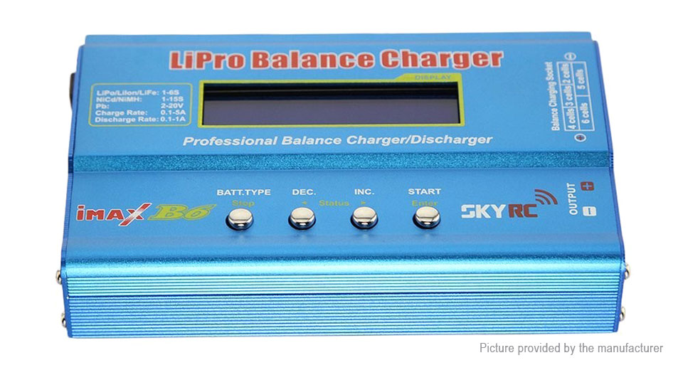 Product Image: authentic-skyrc-imax-b6-battery-balance-charger