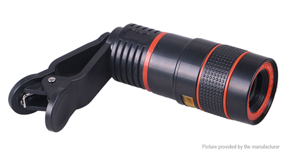 Mm clip on mobile phone monocular telescope high