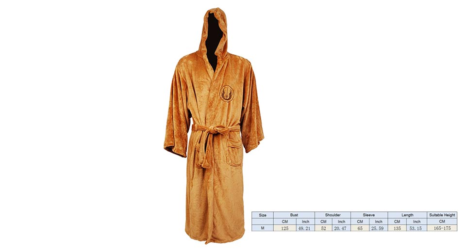 2312 mens soft flannel long sleeve warm bathrobe hooded gown 2312 mens soft flannel long sleeve warm bathrobe hooded gown size m at fasttech worldwide free shipping sciox Image collections