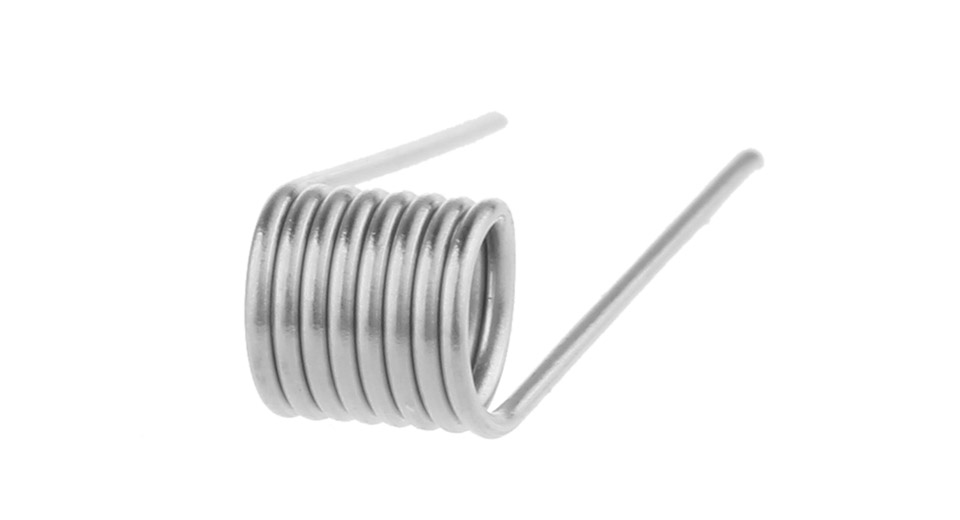 $2.88 AOLVAPE 316L Stainless Steel Pre-Coiled Wire - 50pcs/pack / 24 ...