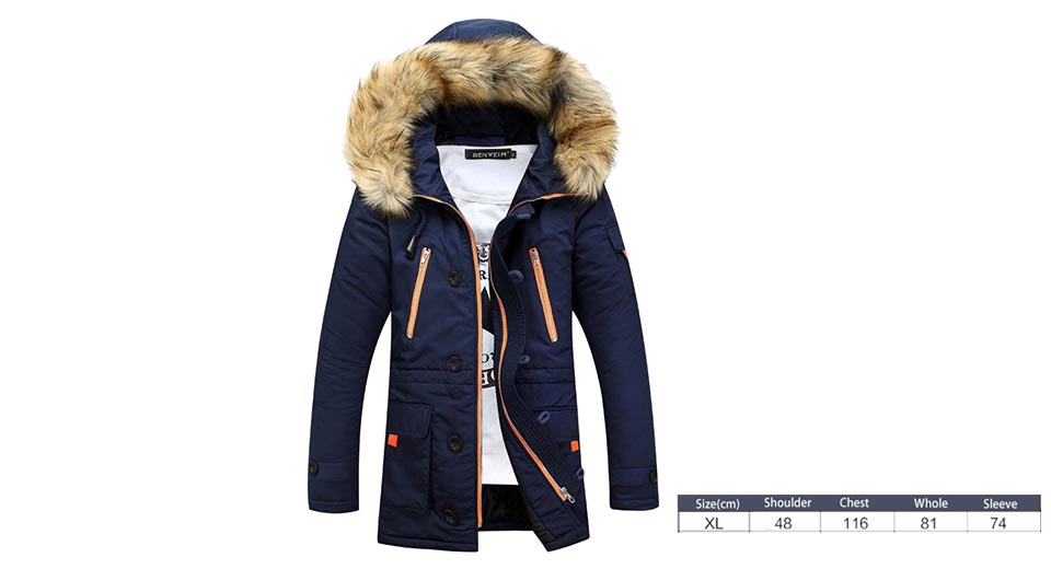 Product Image: men-s-winter-thicken-windproof-hooded-zip-up-long