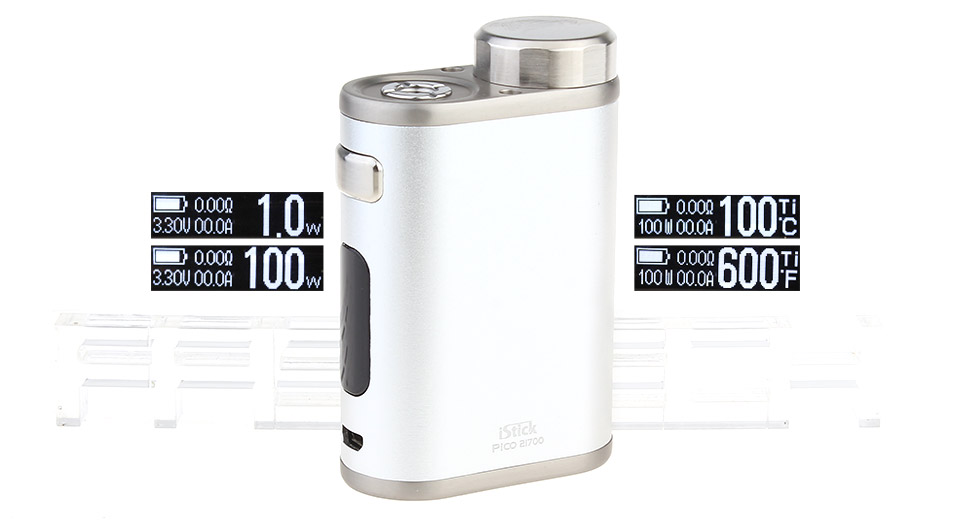 Authentic Eleaf iStick Pico 21700 100W TC VW APV Box Mod