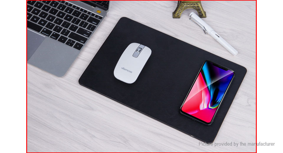 Qi Inductive Wireless Charging Mouse Pad Transmitter