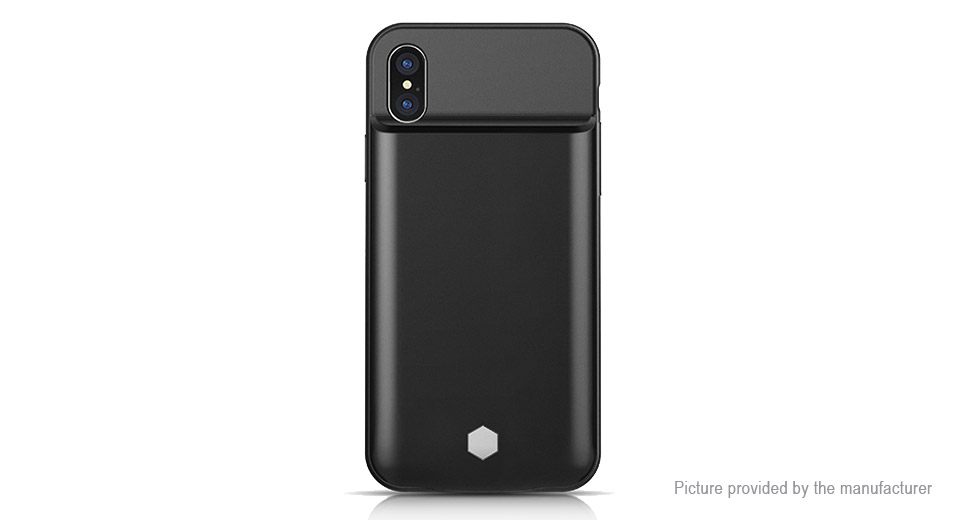 Rechargeable External Battery Back Case for iPhone X (5000mAh)