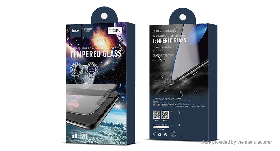 Authentic hoco 3D Templered Glass Full Screen Protector for iPhone 8 Plus