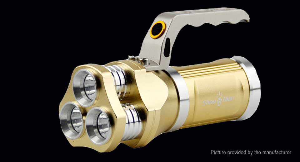 Product Image: 3-led-3-mode-1800lm-pure-white-led-flashlight-set