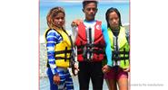 HISEA Drifting Swimming Buoyancy Vest Life Jacket (Size 2XL)
