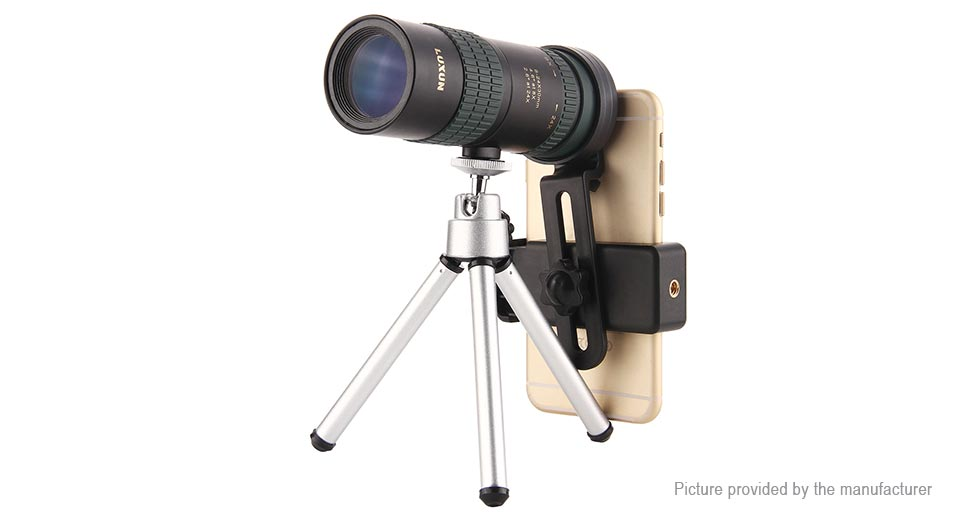 Luxun mm clip on mobile phone monocular telescope