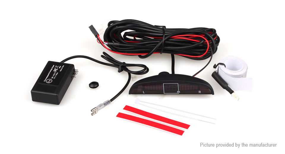 LED Display Electromagnetic Auto Car Reverse Parking Radar Sensor Kit