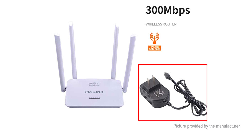 Product Image: pix-link-lv-wr08-300mbps-wireless-n-router
