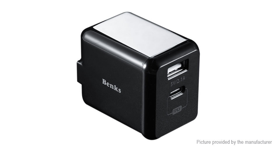 Product Image: authentic-benks-a26-dual-usb-wall-charger-power