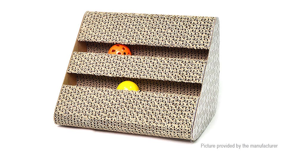 Product Image: leyoupet-cat-scratcher-post-pad-cardboard-toy-w