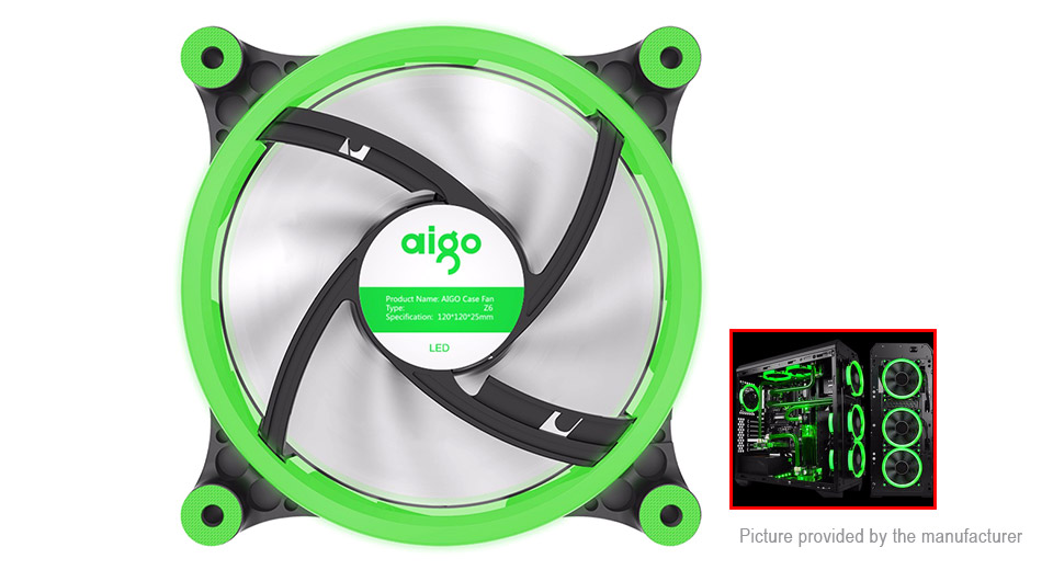 Product Image: aigo-p6-computer-pc-case-cooling-fan