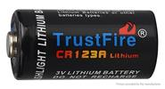 TrustFire Disposable CR123A 3.0V 1300mAh Li-ion Battery (2-Pack)