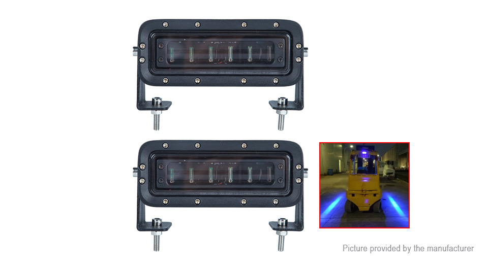 6597 forklift safety warning lamp working security indicator light forklift safety warning lamp working security indicator light pair aloadofball Choice Image